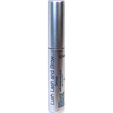 Lash Serum 6ml 6ml lush lash and brow serum with hyaluronic acid hyalogic