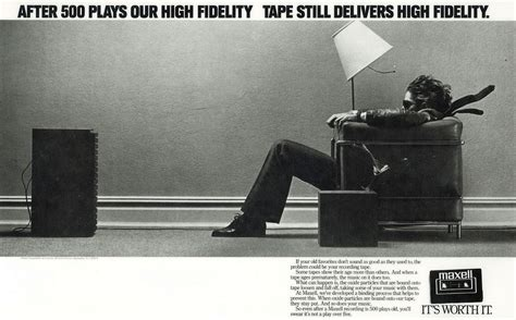 maxell cassette ad avocado memories photos of forgotten blank cassettes