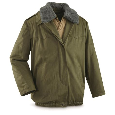 Quilted Jacket Liner by Hungarian Surplus M65 Jacket With Quilted Liner
