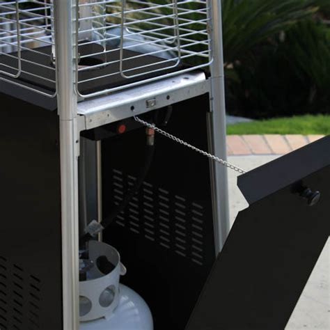 Garden Radiance Stainless Steel Pyramid Outdoor Patio Garden Radiance Patio Heater