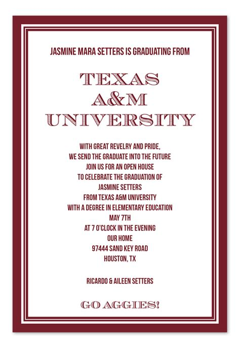 Wedding Invitations In Az by College Graduation Announcement Wording College Graduation