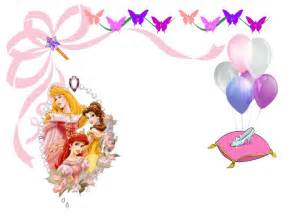 backrounds for invitions princess birthday party