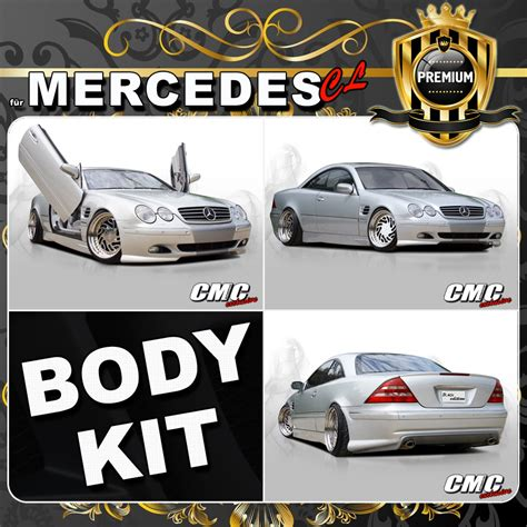 C215 Black mercedes cl w215 c215 black edition bodykit