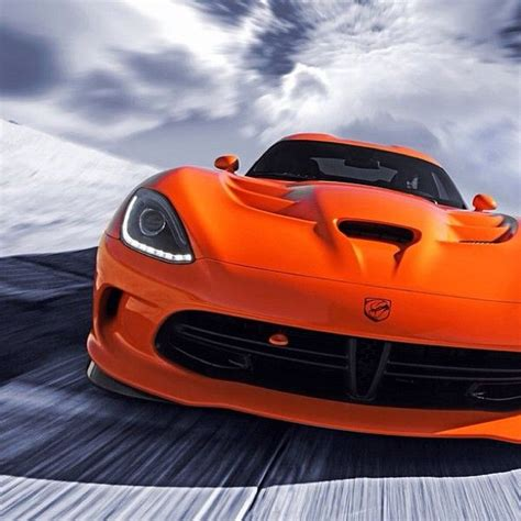 bright orange cars bright orange dodge viper srt mopar pinterest storms