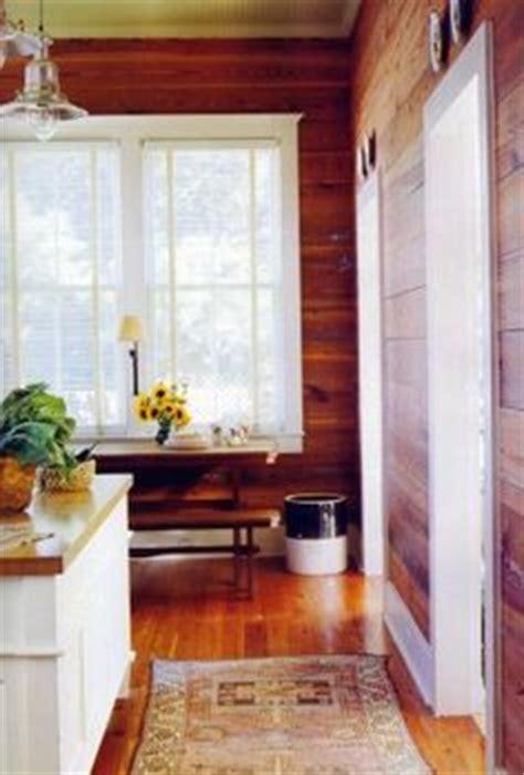 painted window trim  knotty pine cape ideas