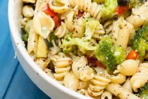 pasta salas zesty italian pasta salad yellow bliss road