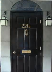 Sherlock Door Number by 221b Baker Door Gonna It Ideas