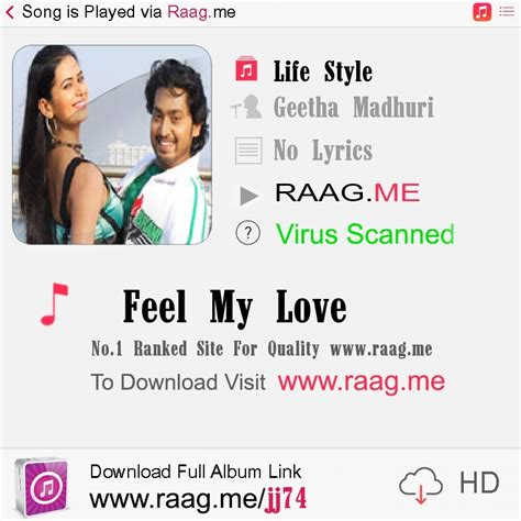 download mp3 song feel my love feel my love mp3 song download geetha madhuri raagtune