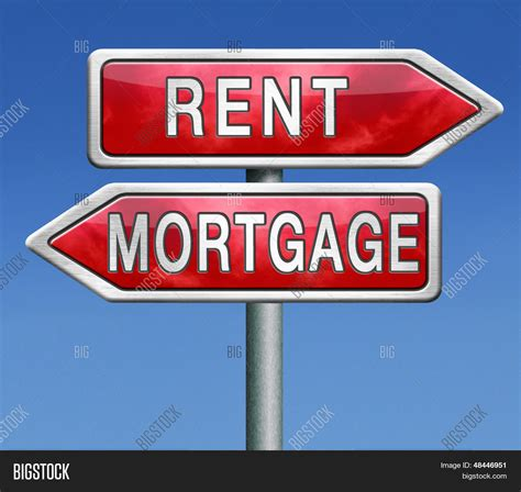 buy rent house mortgage renting buy rent house image photo bigstock