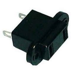 non polarized chassis mount ac power receptacle