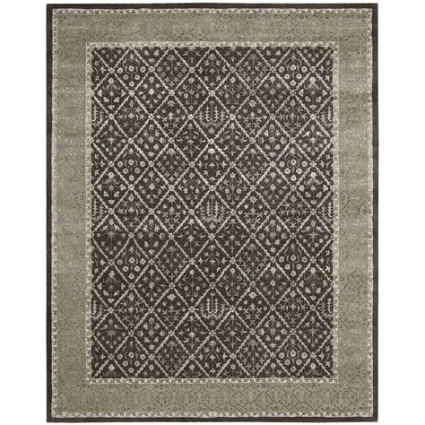nourison symphony charcoal 7 ft 6 in x 9 ft 6 in area