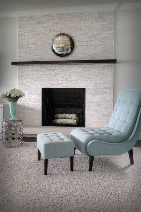 Floor To Ceiling Tiled Fireplace by Fireplaces Mantels And Hearth On