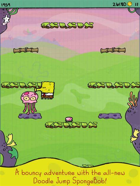 doodle jump secrets doodle jump spongebob squarepants review and discussion toucharcade