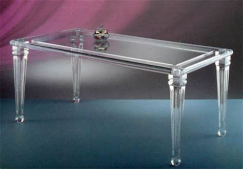 tavoli plexiglass tavoli da pranzo poliedrica s r l arredamento e