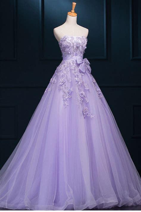 Floor Length Wedding Dress by Floor Length Wedding Dresses Purple Floor Length Wedding
