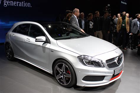 mercedes a class hatches new level of refinement for