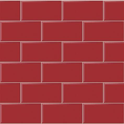 Modern Bathroom Tiling - arthouse wallpaper romano brick red at wilko com