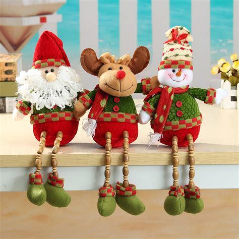 Accesories Aksesoris Asesoris Natal Santa Claus santa claus snowman reindeer 26x13cm doll home decor gift price 5 29