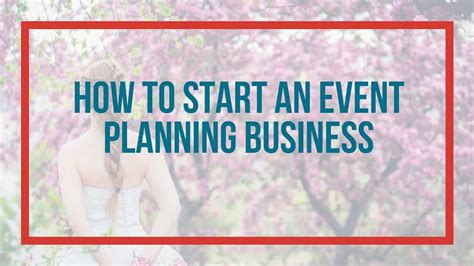 how to start an event planning business from home 28