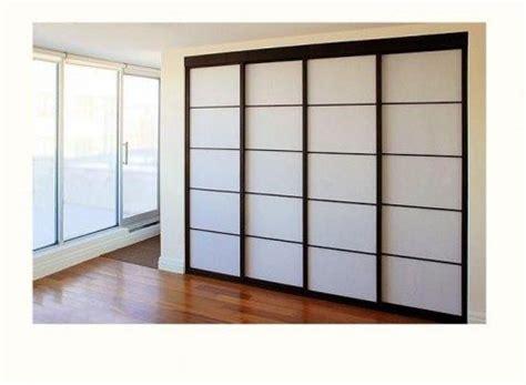 Bedroom Closet Doors Look Like Japanese Shoji Screens Japanese Sliding Closet Doors