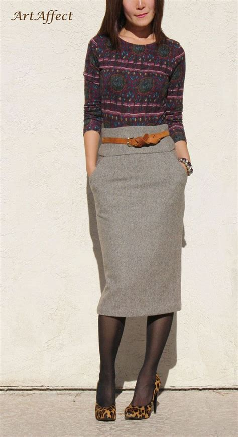 25 best ideas about high waisted pencil skirt on