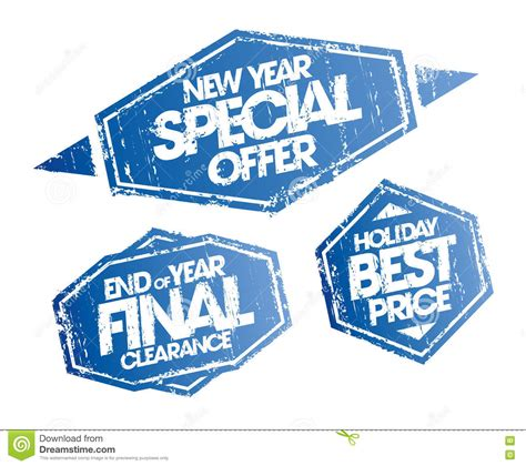 new year price new year special offer end of year clearance and