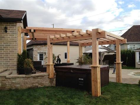 rustic patio designs with pergola amazing patio designs