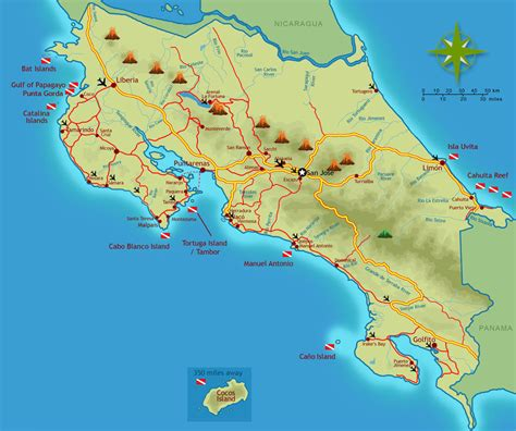 maps of costa rica maps of costa rica every map you need for your trip to