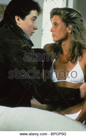 nicollette sheridan the sure thing nicollette sheridan the sure thing 1985 stock photo
