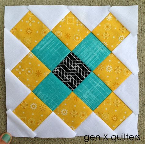 Square Block Quilt Patterns by Genxquilters Modern Traditional Quilting Block Of The