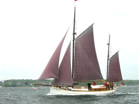 traditional danish gaff ketch sail boat  sale wwwyachtworldcom