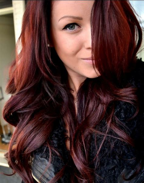 dark brown hair with mahogany highlights mahogany with auburn cherry cola highlights hair