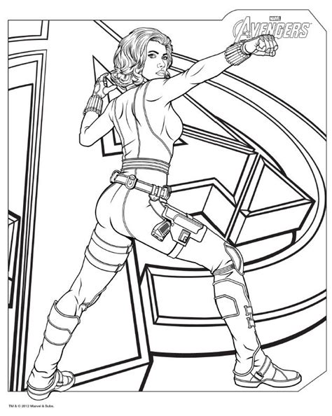 avengers assemble coloring pages download avengers coloring pages here blackwidow