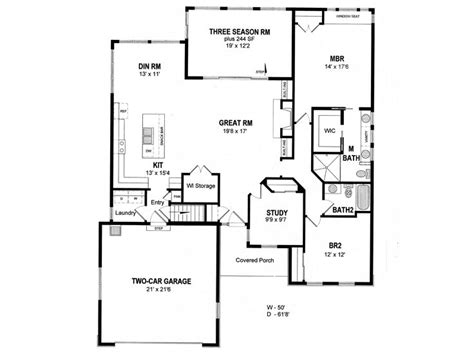 empty nester floor plans empty nester house plans small traditional empty