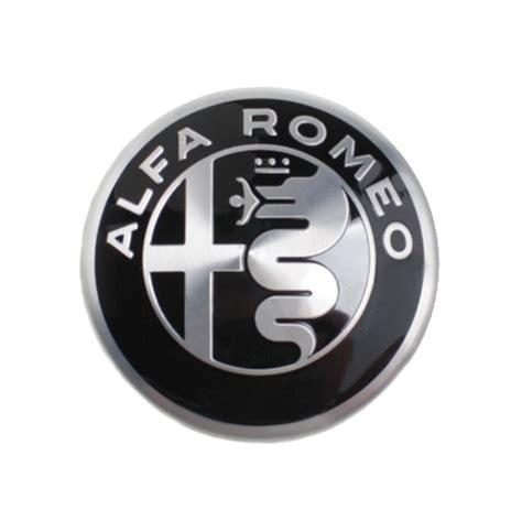 alfa romeo emblem alfa romeo felgen emblem schwarz silber alfa romeo shop