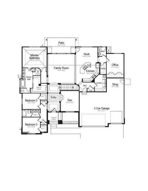 rambler floor plan rambler floor plans brighton homes utah utah s most