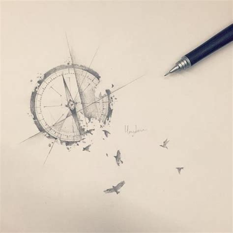 Tattoo Compass Bird | compass bird google search tattoo inspo pinterest