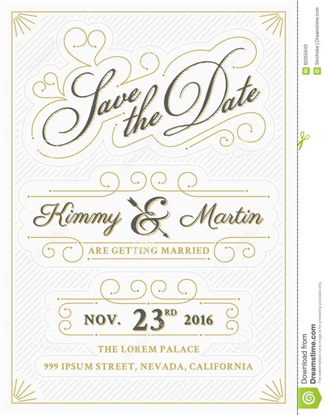 free vintage save the date templates save the date template free www imgkid