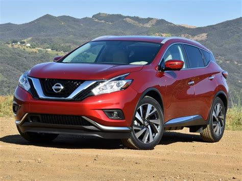 nissan murano red 2016 ratings and review 2016 nissan murano platinum ny daily