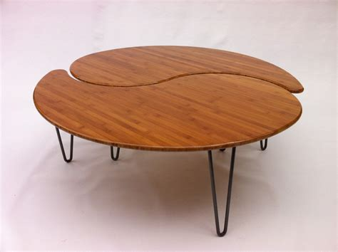 yin yang table yin yang nesting large coffee table mid century modern
