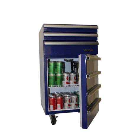 versonel portable blue garage toolbox refrigerator energy