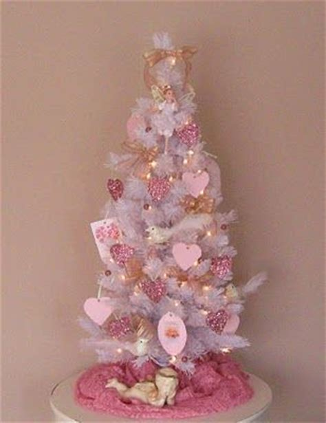 valentine tree get a white or pink tree from christmas