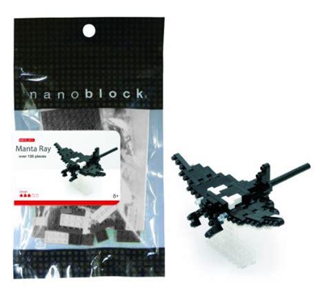 Nanoblock Manta by Manta Nanoblocks