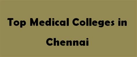 Best Mba Colleges In Chennai 2014 by Top Colleges In Chennai 2015 2016 Exacthub