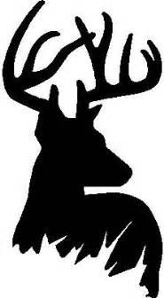 25 best ideas about deer head silhouette on pinterest