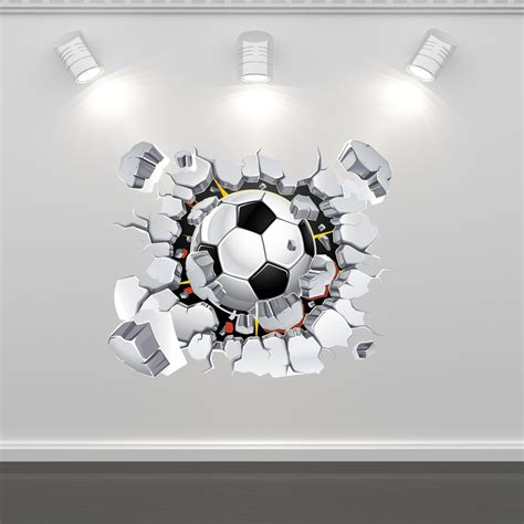 football stickers for walls football soccer wall sticker mural decal graphic boys
