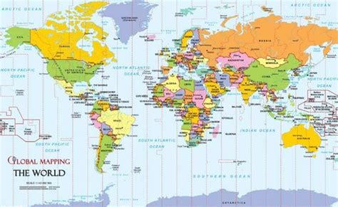 world map of cities and countries world maps with countries and capitals