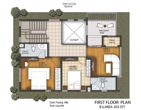 house plans east facing east facing plans 3 bhk duplex villas