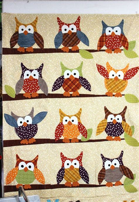 Owl Patchwork Patterns - 25 best ideas about owl quilt pattern on owl