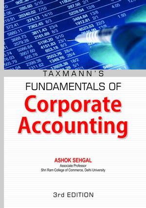 corporate financial accounting books corporate accounting